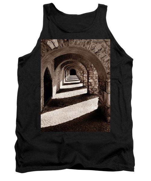 Corridors Of Stone Tank Top