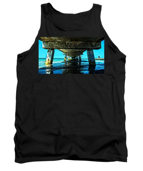 Corrosion Washed Tank Top