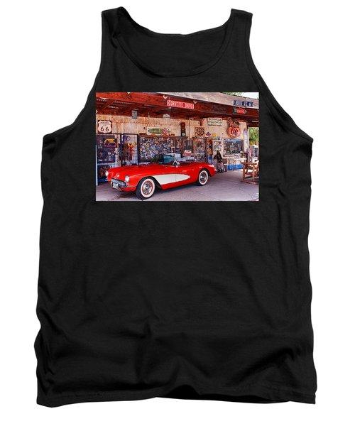 Corvette Drive Rt 66 Tank Top