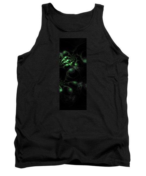 Cosmic Alien Eyes Original 2 Tank Top by Shawn Dall