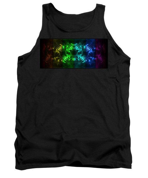 Cosmic Alien Eyes Pride Tank Top