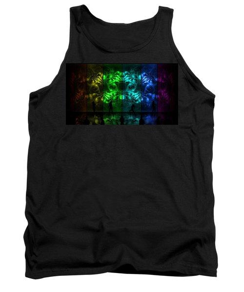 Cosmic Alien Vixens Pride Tank Top