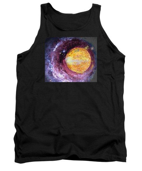Cosmic Tank Top by Kathy Bassett