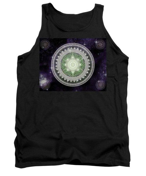 Cosmic Medallions Earth Tank Top