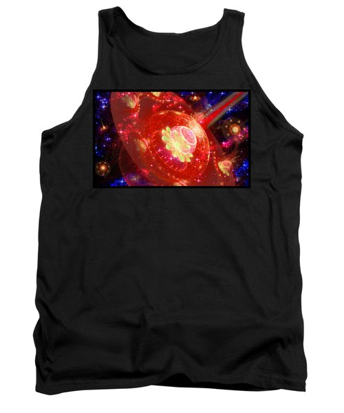 Cosmic Space Station 2 Tank Top