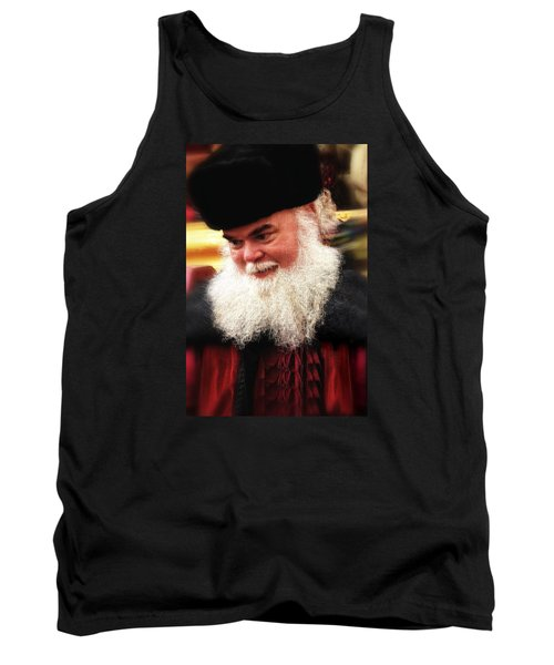 Tank Top featuring the photograph Cossack Santa by Nadalyn Larsen
