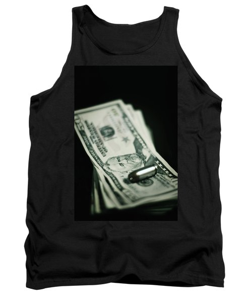 Cost Of One Bullet Tank Top by Trish Mistric