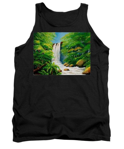Costa Rica Waterfall Tank Top