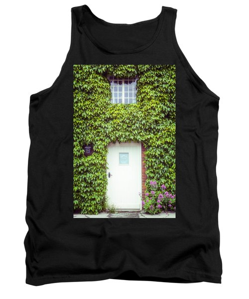 Cottage With Ivy Tank Top