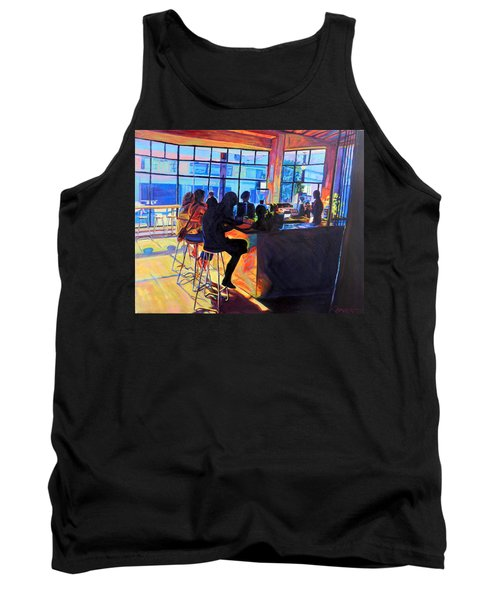 Counterpoint Tank Top by Bonnie Lambert