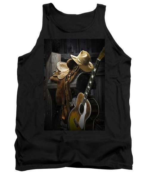 Country And Western Music Tank Top