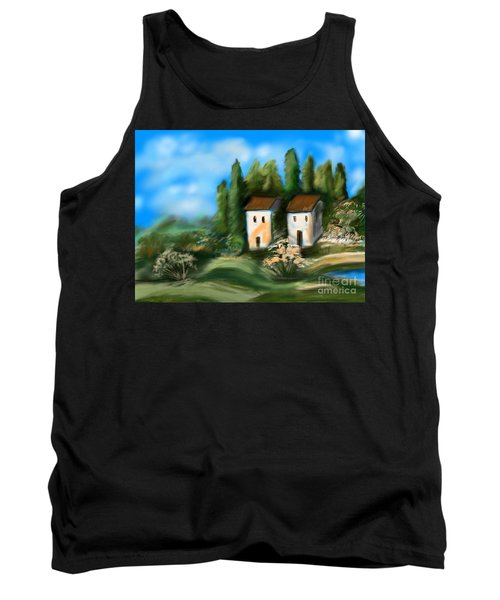 Countryside Tank Top by Christine Fournier