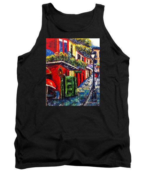 Couple In Pirate's Alley Tank Top