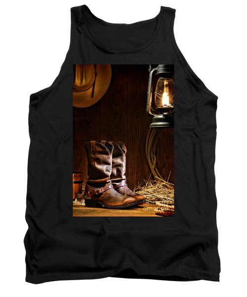 Cowboy Boots At The Ranch Tank Top
