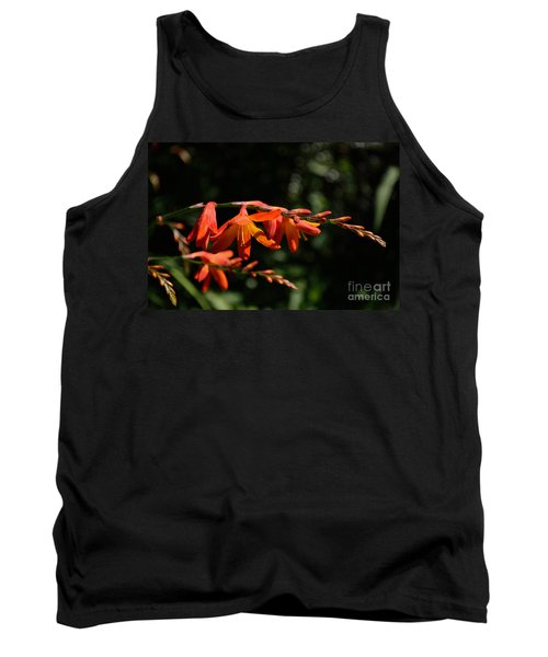 Crocosmia 'dusky Maiden' Flowers Tank Top