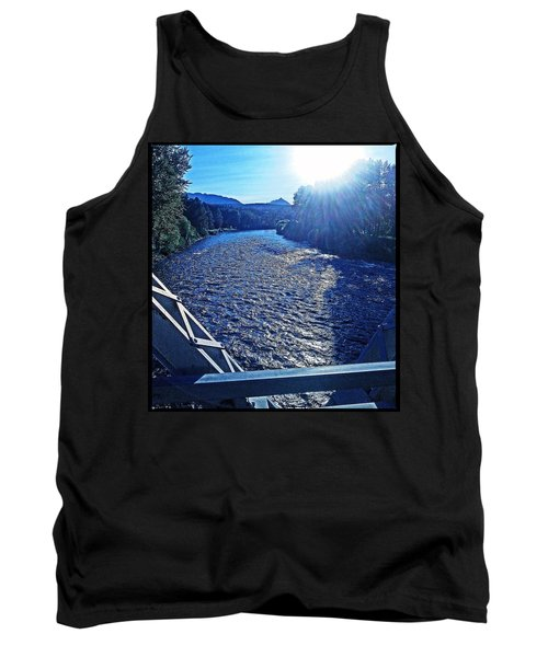 Tank Top featuring the photograph Crossing The Final Bridge Home by Joseph J Stevens