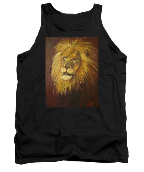Crown Of Courage,lion Tank Top