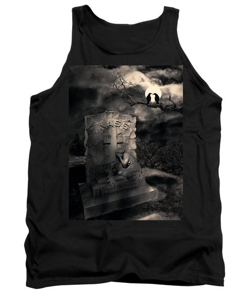 Crows In The Graveyard Tank Top