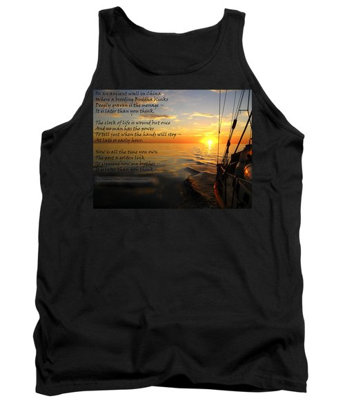 Cruising Poem Tank Top