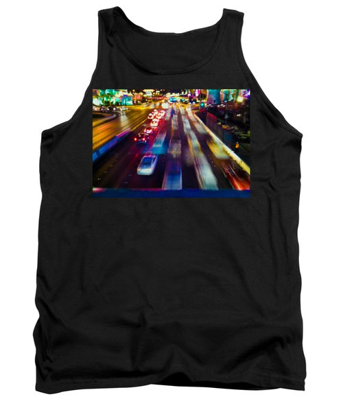 Cruising The Strip Tank Top by Alex Lapidus