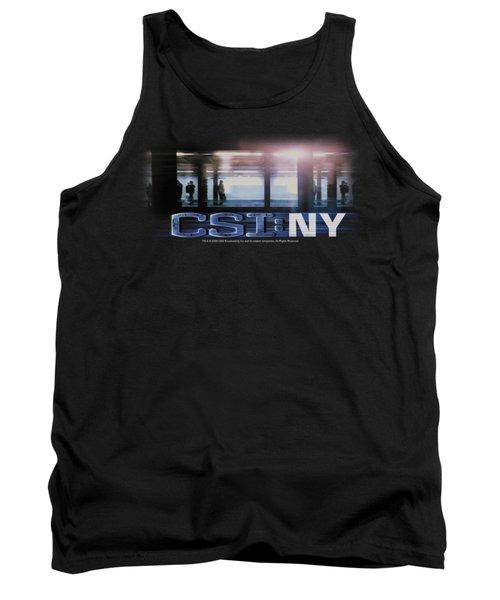 Csi - New York Subway Tank Top