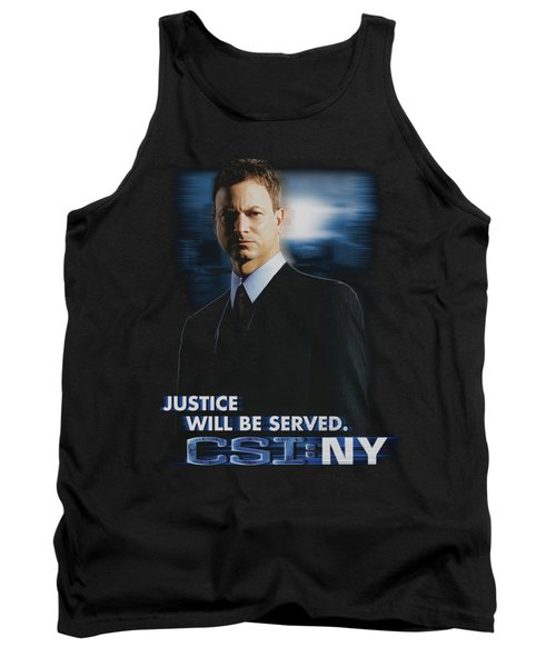 Csi:ny - Justice Served Tank Top