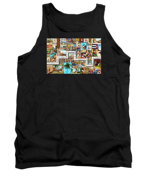 Tank Top featuring the painting Cubana by Joseph Sonday