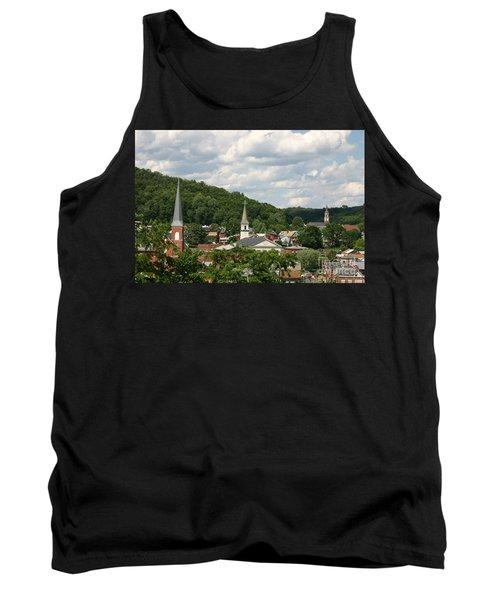 Cumberland Steeples Tank Top by Jeannette Hunt