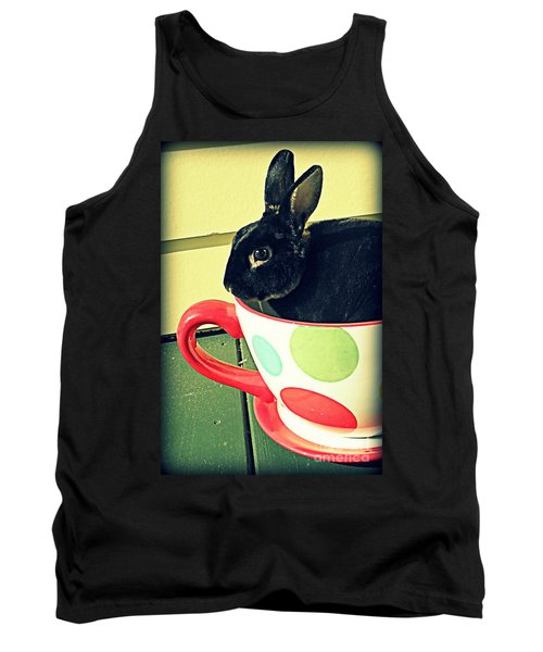 Cup O' Rabbit Tank Top by Valerie Reeves
