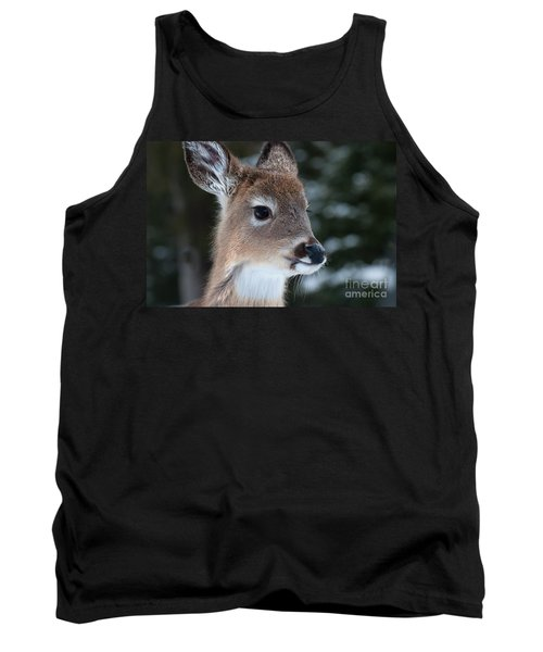 Curious Fawn Tank Top by Bianca Nadeau