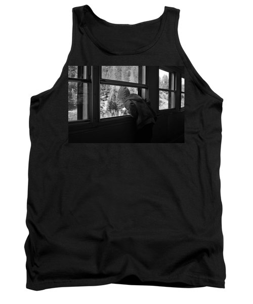 Tank Top featuring the photograph Curious by Jeremy Rhoades