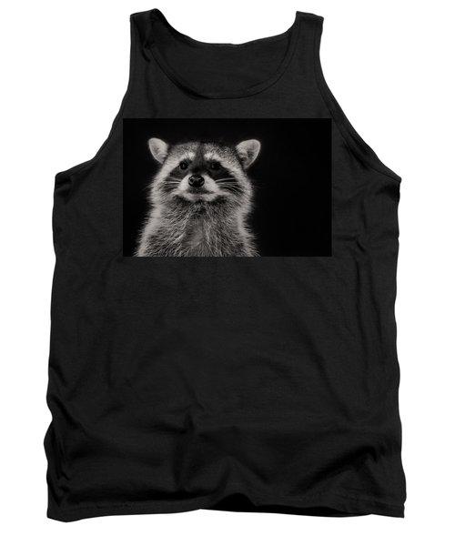 Curious Raccoon Tank Top