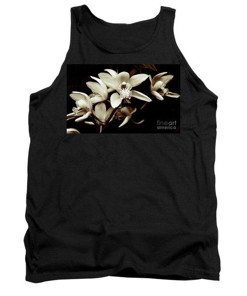 Cymbidium Orchids Tank Top