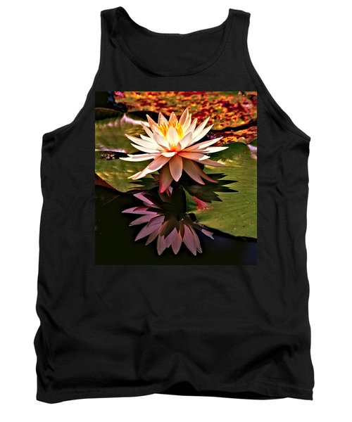 Cypress Garden Water Lily Tank Top by Bill Barber