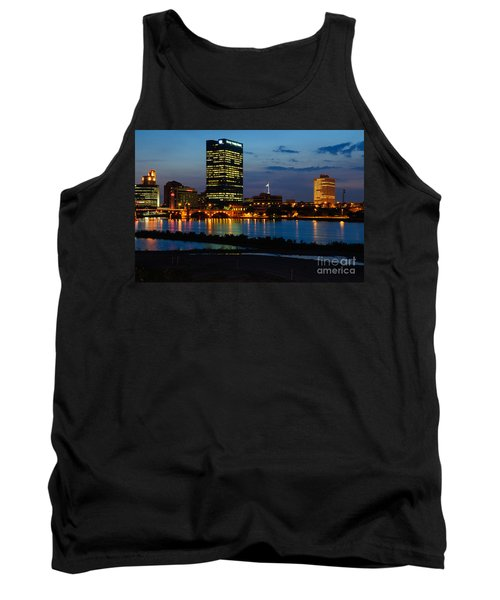 D12u152 Toledo Ohio Skyline Photo Tank Top