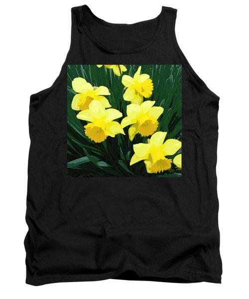 Daffodil Song Tank Top by Pamela Hyde Wilson