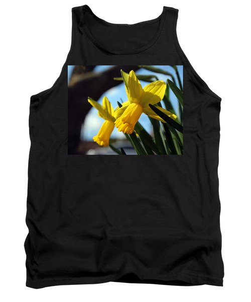 Daffodils Tank Top by Joseph Skompski