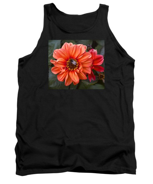 Dahlia With Bee Tank Top by Venetia Featherstone-Witty
