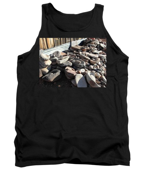 Tank Top featuring the photograph Daily Grind by Natalie Ortiz