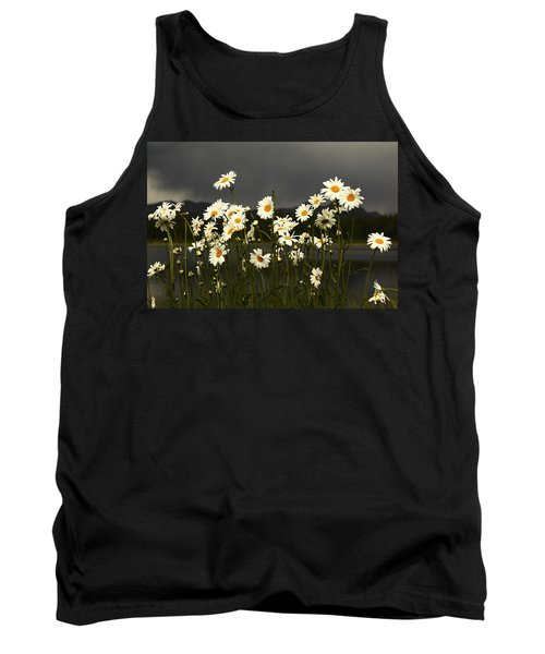 Daisies In Storm Light Tank Top