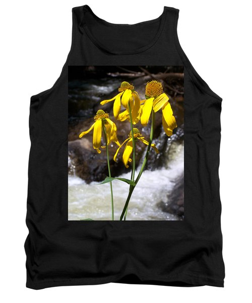 Daisies Near The Water  Tank Top