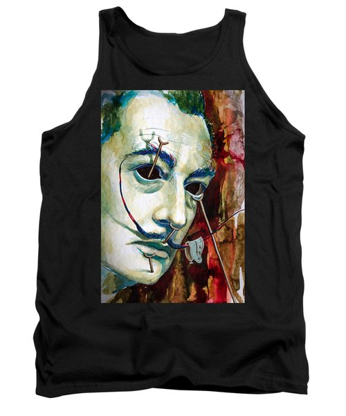 Tank Top featuring the painting Dali 2 by Laur Iduc