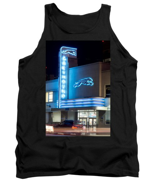Dallas Greyhound V2 020915 Tank Top