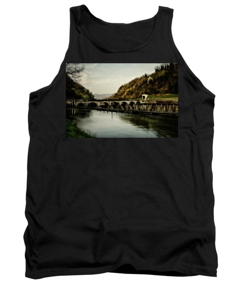Dam On Adda River Tank Top
