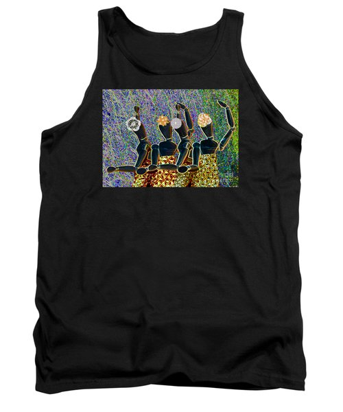 Tank Top featuring the photograph Dance Party by Nareeta Martin