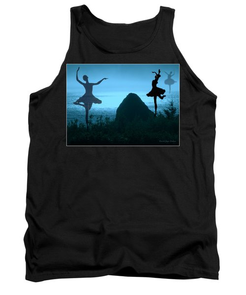 Tank Top featuring the photograph Dance Of The Sea by Joyce Dickens