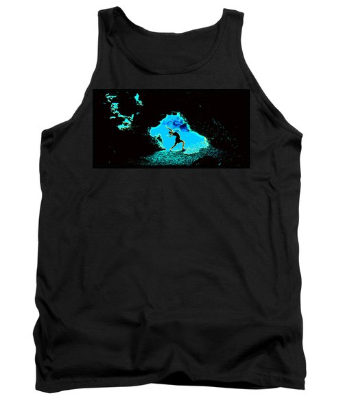 Tank Top featuring the photograph Dancer On The Edge Of Time by Susanne Still