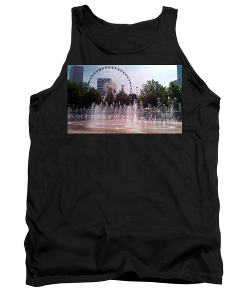 Dancing Fountains Tank Top