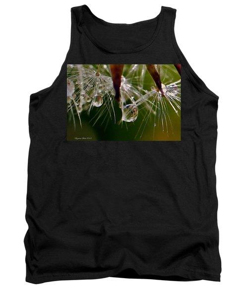 Dandelion Droplets Tank Top by Suzanne Stout