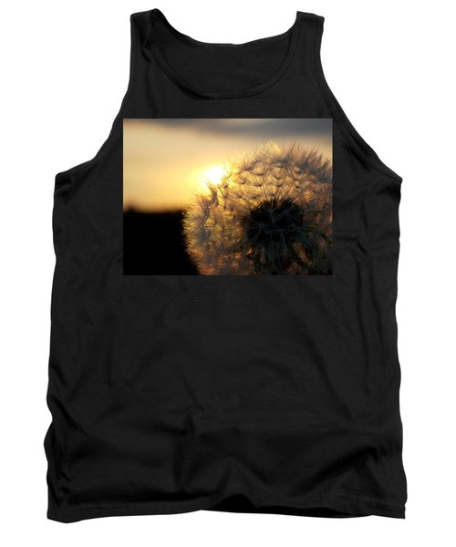 Dandelion Sunset Tank Top